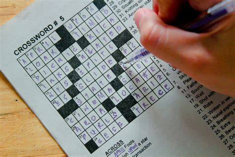 Get Benefited With The Crossword Puzzles Solutions