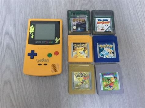 for gameboy color nintendo gameboy color with 6 included 3