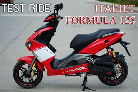 Mocyc Tv Test Ride Italjet Formula 125