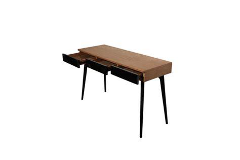 console bureau design bureau bois noir bureau en verre lepolyglotte