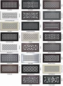 Grille Metal Decorative : 98 best vent cover images on pinterest radiators radiator cover and radiant heaters ~ Teatrodelosmanantiales.com Idées de Décoration