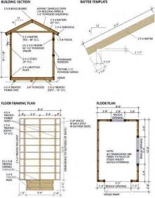 Storage Building Blueprints Pictures by 8 215 12 Storage Shed Plans Detailed Blueprints For Building