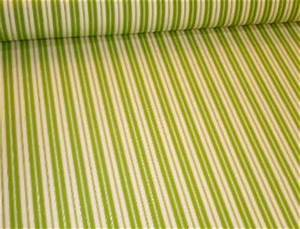 Lime And White Outdoor Furniture And Cushion Fabric By The