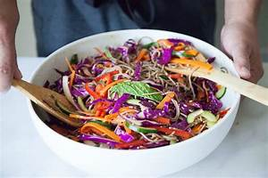 Asian noodle cold salad