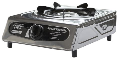 Sportsman Series Portable Single Burner Camping Stove Gas Propane Lp Cooking How Long Do You Cook Corn On The Cob Stovetop Viking Stove Grill Cover Wood Insert Brands Sauna Stoves Minnesota Parts Names Solid Fuel Done Deal Propane Regulator For Gas Dealers York Pa