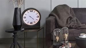 Horloge En Metal : horloge en m tal noir collection ageless homifab ~ Teatrodelosmanantiales.com Idées de Décoration