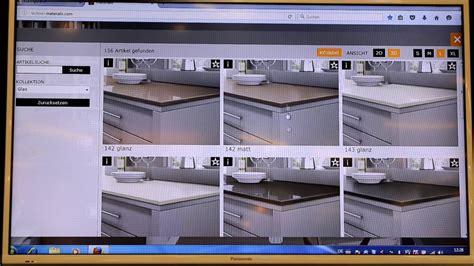 Arbeitsplattenkonfigurator  Küchenwohntrends 2016 (live
