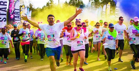 color run paint the color vibe 5k fort myers