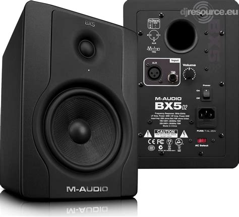 M-Audio › BX5 D2 › Speakers (active) - Gearbase   DJResource