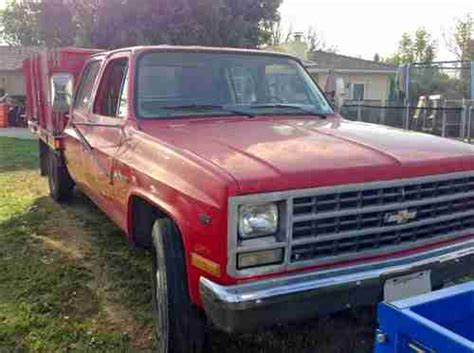 purchase   chevrolet  crew cab flatbed truck