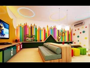 Decorating home daycare ideas childcare interior design for Youtube home interior decoration