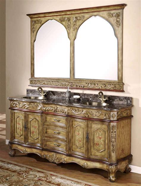73 inch Midland Vanity   Old World Vanity   Charming