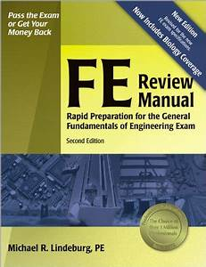9781591260721  Fe Review Manual  Rapid Preparation For The