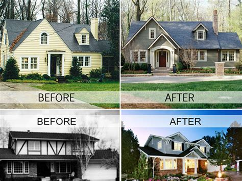 house renovation before and after amazing before and after home renovations 17 pictures