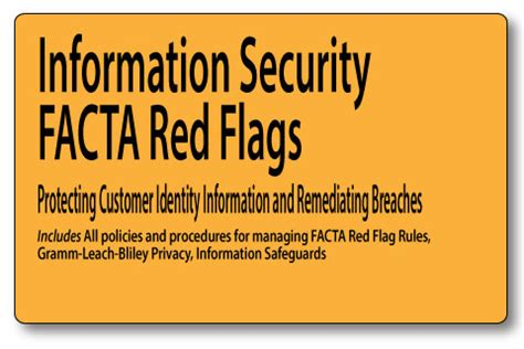 Anti Money Laundering Sar Reporting Mortgage Policies Facta Flags Information Security Plans