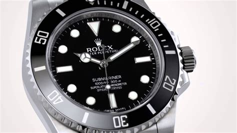 Rolex Submariner no-date with ceramic bezel at Baselworld ...