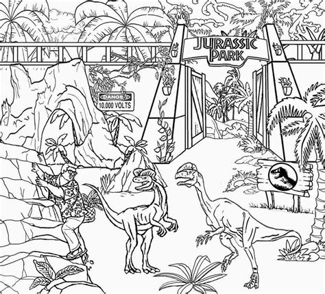 jurassic world coloring pages  printing