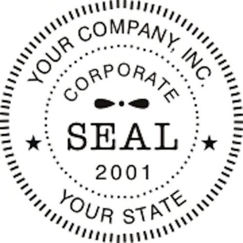 inking  corporate business company logo seal