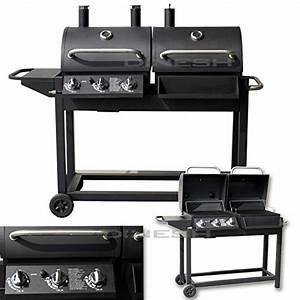 Bbq Gasgrill Test : di nesh duo smoker gasgrill barbecue bbq grillwagen test ~ Michelbontemps.com Haus und Dekorationen