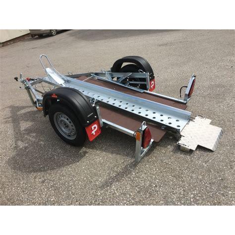 reifen für pkw anhänger 750 kg motorradanh 228 nger pkw anh 228 nger pongratz ma 250 u k 750 kg ungebremst mit kippbarer schiene