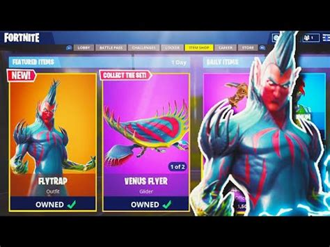 flytrap legendary skin  fortnite  fortnite