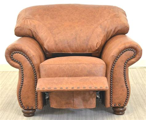 kick back in a leather recliner the leather sofa company