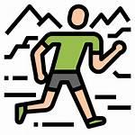 Trail Icon Icons Running Adventure Run Racing