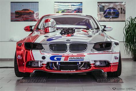 Bmw E93 M3 Drift Car Has A Supercharged Lsx Engine