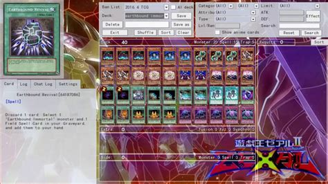 yugioh deck profile earthbound immortal june 2016 youtube