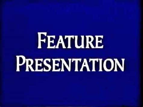 Feature Presentation (1994-2000, 2003-2004) - YouTube