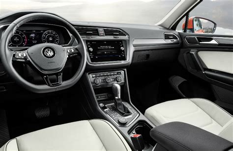 2018 Volkswagon Tiguan Interior Pictures To Pin On
