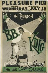 Vintage 1950s B.B. King Blues Concert Posters