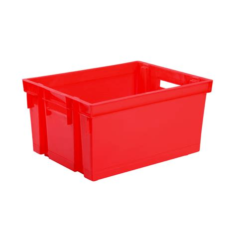 eda plastiques caisse de rangement bac manutention 30 l
