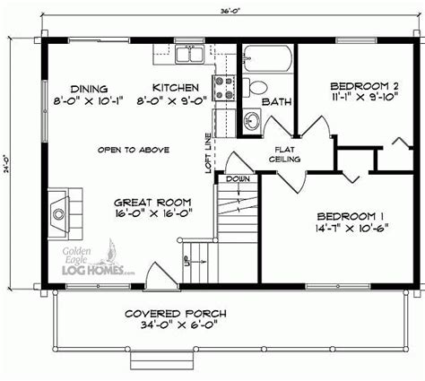 free house plans with basements 24x36 house floor plans with loft pinteres
