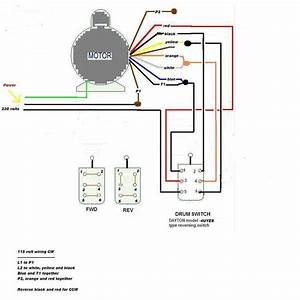Dayton 3  4 Hp 115v Electric Motors Wiring Diagram