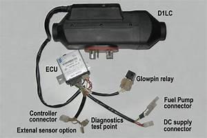 Eberspacher Rheostat Wiring Diagram