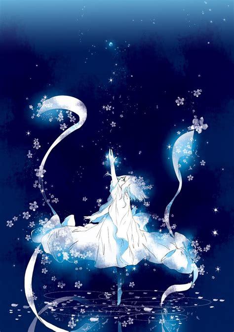 anime art from photo 我想要一个美丽的动漫女生仰望着璀璨的星空的图片 急 百度知道