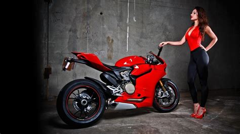 Mädchen & Motorräder Full Hd Wallpaper And Hintergrund