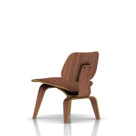 herman miller eames 174 molded plywood lounge chair wood