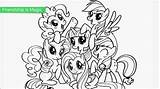 Pony Coloring Pages Printable Colouring Ponies Mlp Ponycoloring Person sketch template