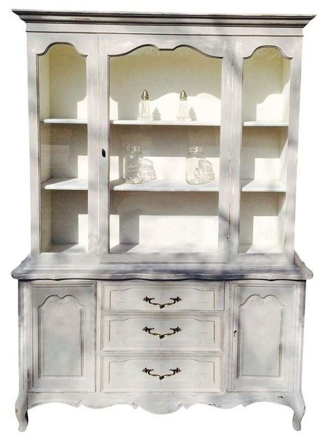 French Country China Cabinet  Modern  China Cabinets And