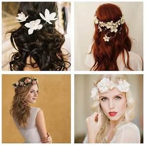 Couronne De Fleurs Cheveux Mariage : quelle coiffure pour son mariage ~ Farleysfitness.com Idées de Décoration