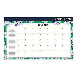 glance simplified emily ley compact monthly desk pad calendar