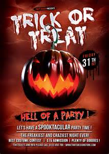 Free Halloween Dance Flyer Templates by Halloween Flyer Template Psd To Customize Easily Vol 6