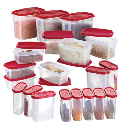 kitchen food storage container set prime houseware airtight containers set of 20 by 8103