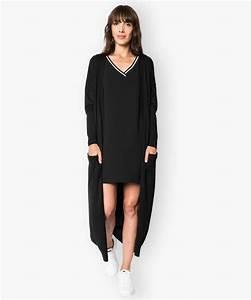 Gilet Long Noir Femme : catgorie gilets cardigans femmes page 2 du guide et ~ Voncanada.com Idées de Décoration