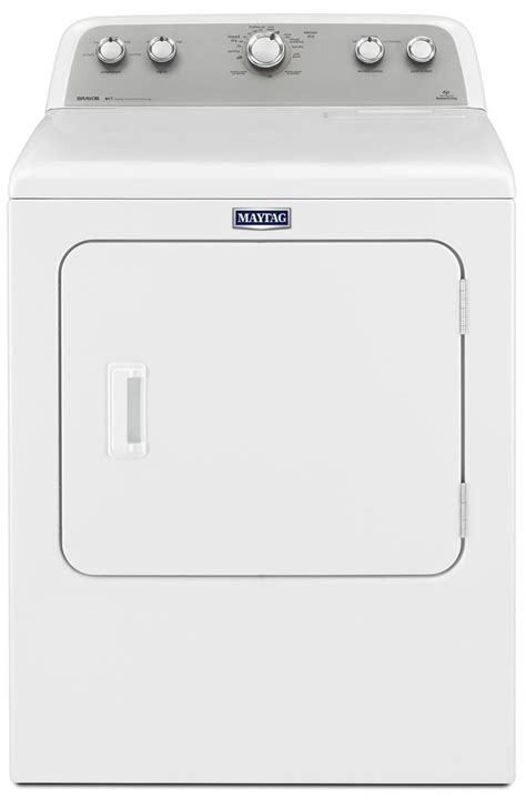 Maytag White Bravos Electric Dryer   MEDX655DW