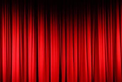 Curtain Curtains Clipart Clip Concert Maroon Hall