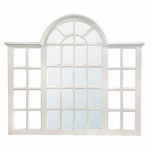 White Window Style Mirror - Forever Furnishings :: Fine