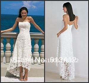 free shipping by dhl fedex casual beach wedding dress With white beach wedding dresses casual